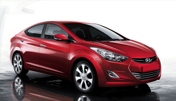 The Hyundai Elantra available at Globe Motors