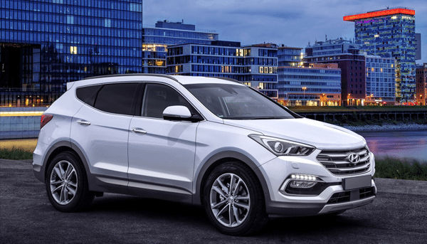 The Hyundai Grand Santa Fe 2017 with distinctive features available at Globe Motors in Nigeria.