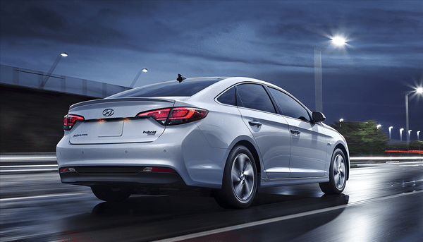 The Hyundai Sonata available at Globe Motors