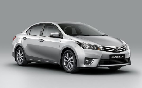 brand new Toyota Corolla at Globe Motors