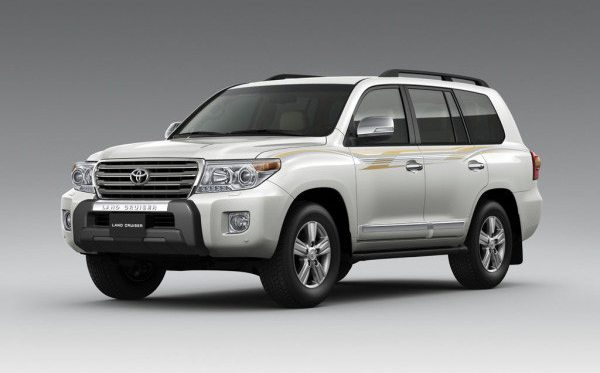 brand new Toyota LandCruiser at Globe Motors