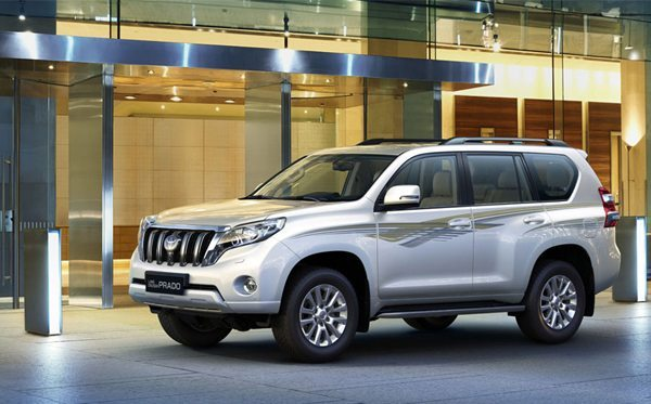 brand new Toyota prado at Globe Motors