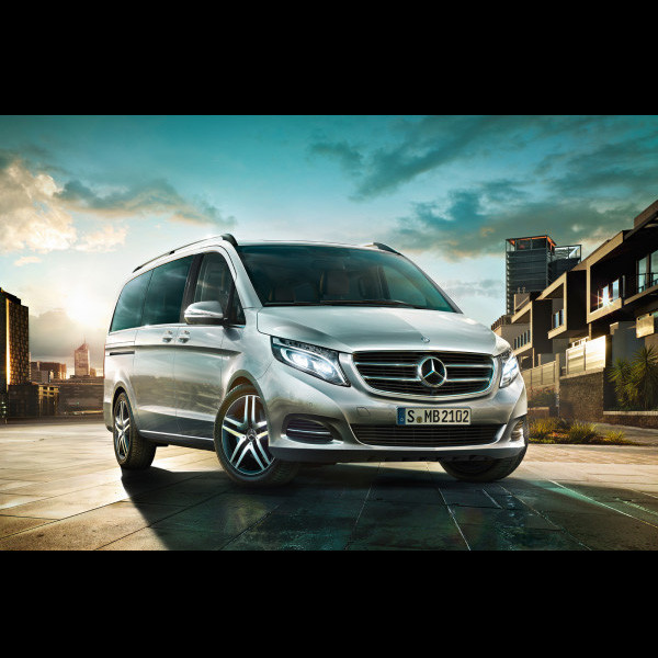Brand New Mercedes - Benz V-Class - Globe Motors, Authorised Mercedes Benz Dealer