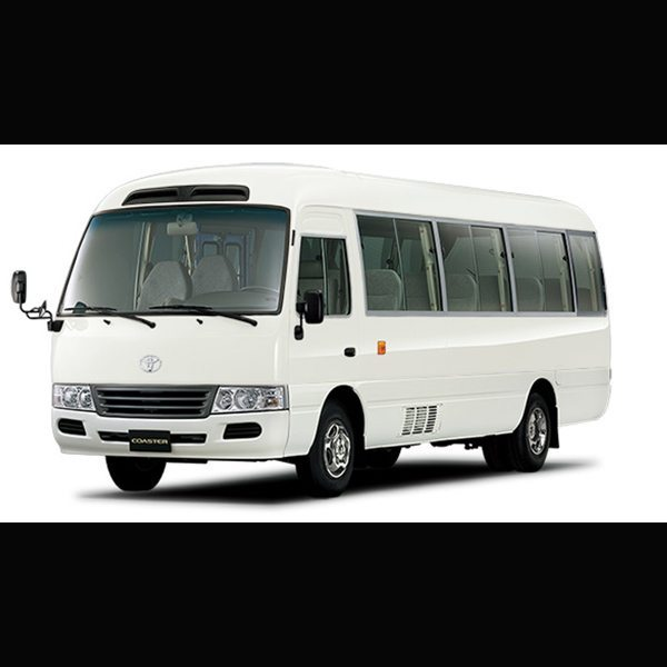 Brand New Toyota Coaster Bus available at Globe Motors - Toyota, Lagos, PHC, Abuja